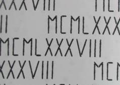 numeri-romani